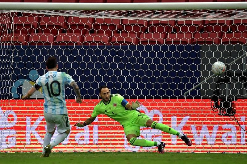 अर्जेन्टिना कोपा अमेरिका फुटबलको फाइनलमा प्रवेश