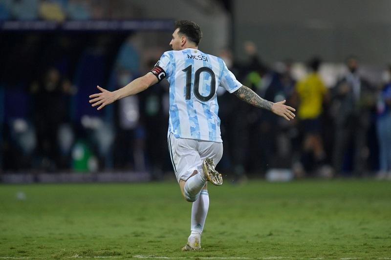 अर्जेन्टिना कोपा अमेरिका फुटबलको सेमिफाइनलमा