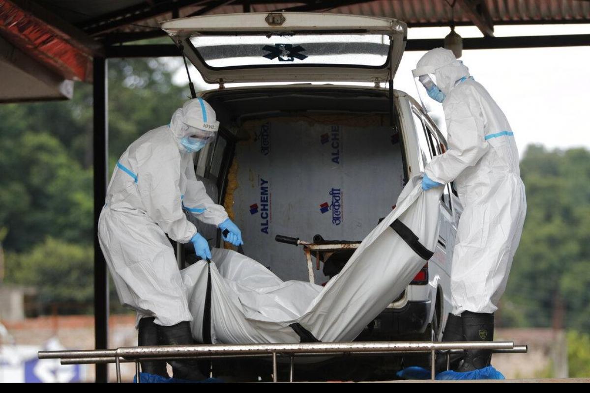 भारतमा एक दिनमै ३६ सय भन्दा बढी  कोरोना सक्रमितको मृत्यु