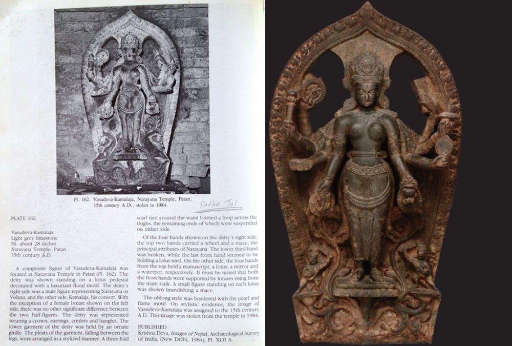अमेरिकाले फिर्ता गर्यो नेपालबाट हराएका मूर्ति