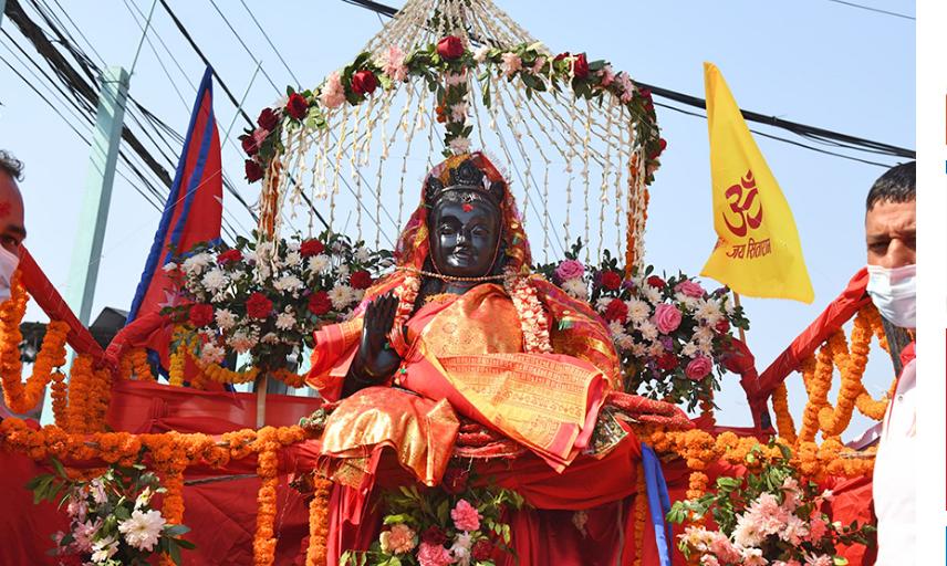 अयोध्यापुरीमा राम सीताका मूर्ति मध्याहृन १२ः३० बजेको साइतमा प्रतिस्थापन गर्ने तयारी