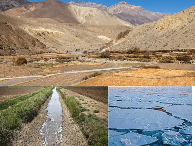 पानीको अभाव र जलवायु परिवर्तनको प्रभावले स्थानीय अन्यत्र पलायन