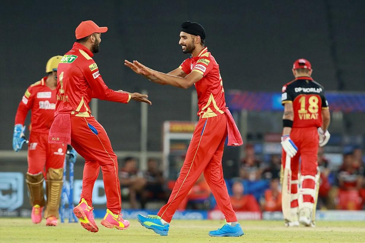 आईपीएल : पञ्जाबले बेंगलोरलाई ३४ रनले पराजित गर्यो