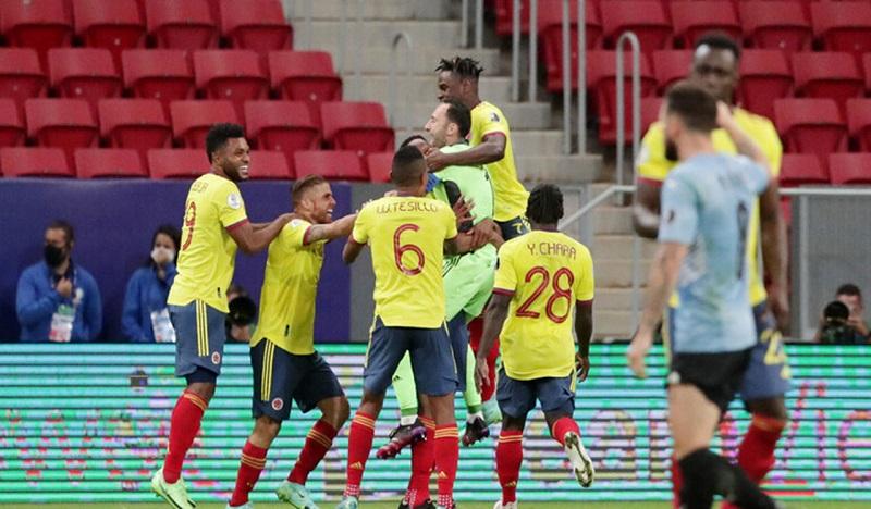कोलम्बिया कोपा अमेरिका फुटबलको सेमिफाइनलमा