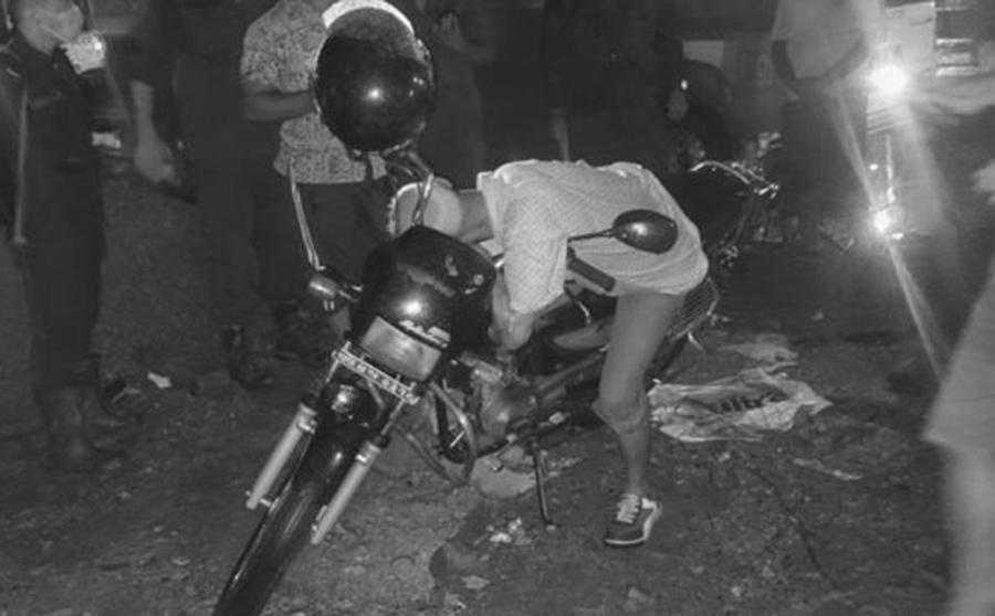विराटनगरमा रोकिराखेको मोटरसाइकलमाथि एक पुरुषको शव फेला