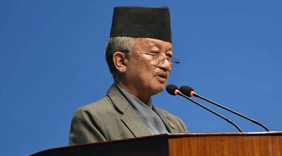 प्रधानमन्त्री ज्यू, निर्वाचन नसार्नुहोला : नेता नेम्वाङ