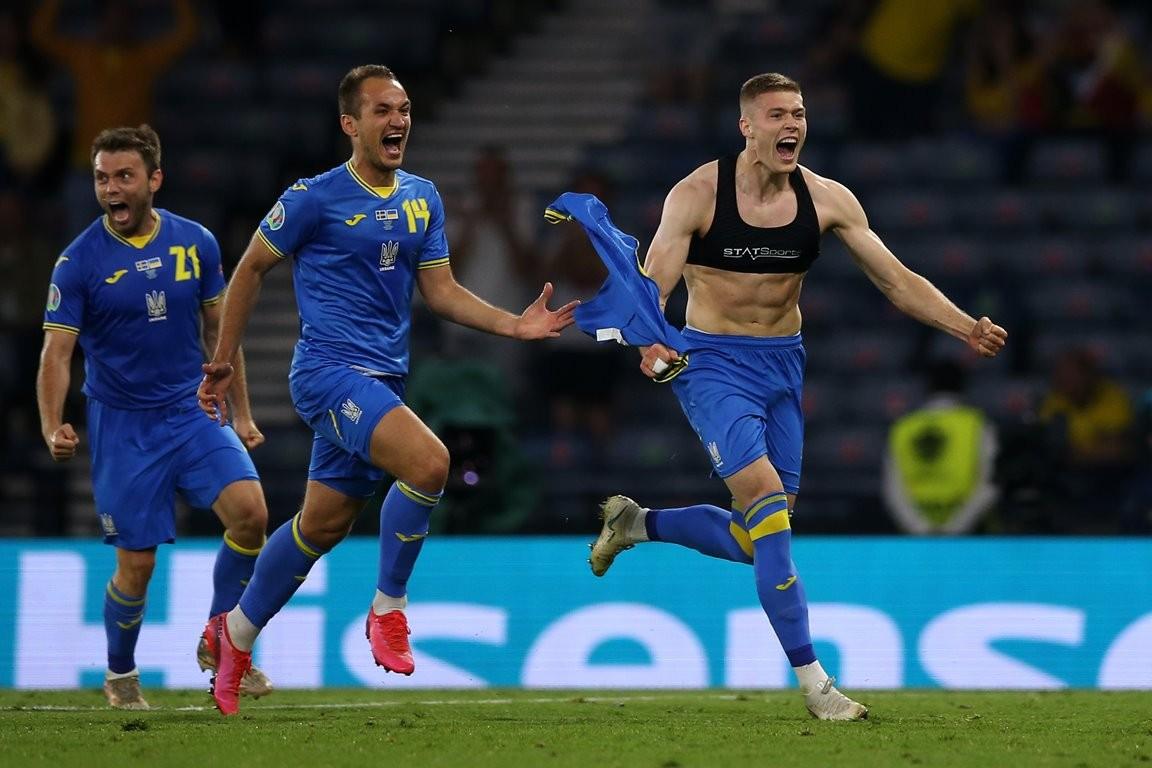 स्विडेनलाई हराउँदै युक्रेन युरोकप फुटबलको क्वाटरफाइनलमा