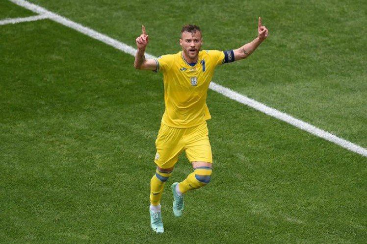 युरोकप फुटबलमा युक्रेनको पहिलो जित,म्यासेडोनिया २–१ गोल अन्तरले पराजित